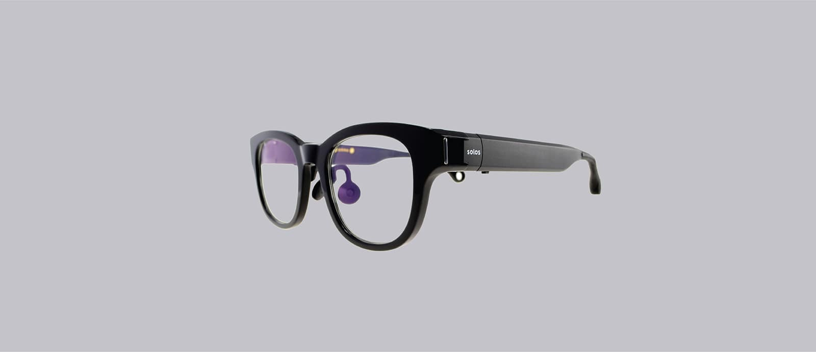 Solos argon glasses perspective view