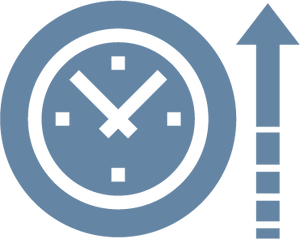 Time extending icon