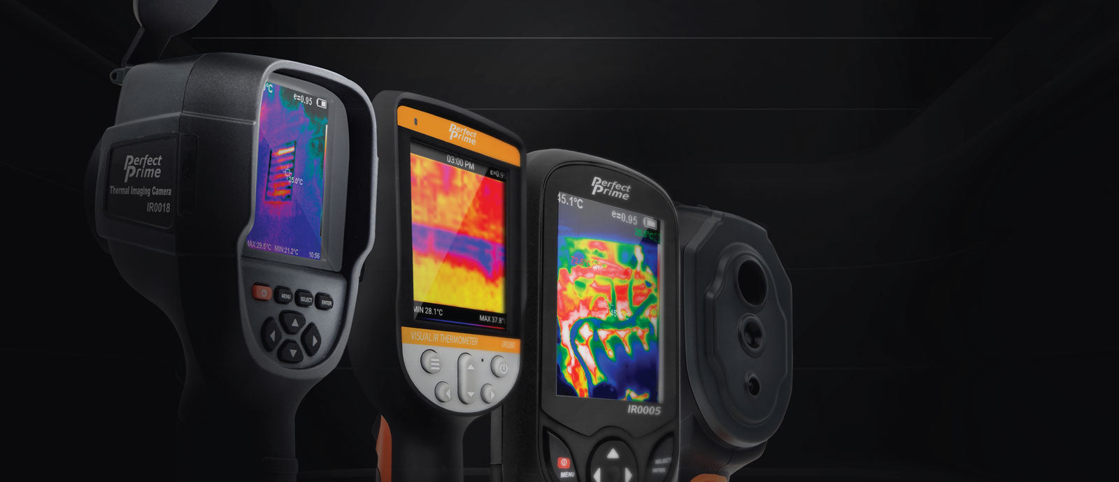 thermal imaging camera IR0018, IR0280, IR0005 and IR0002