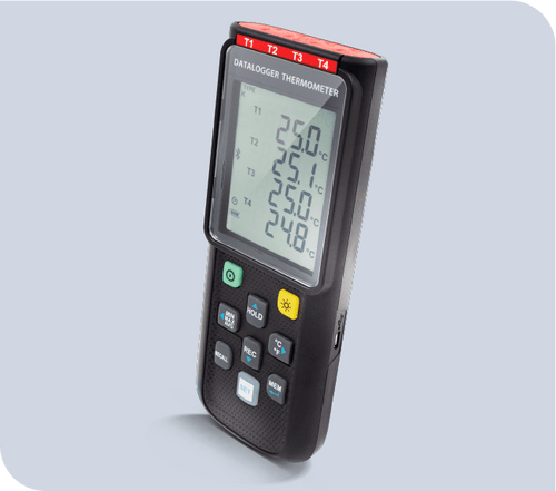 TC0521 K Type 4 Channel Thermocouple Thermometer