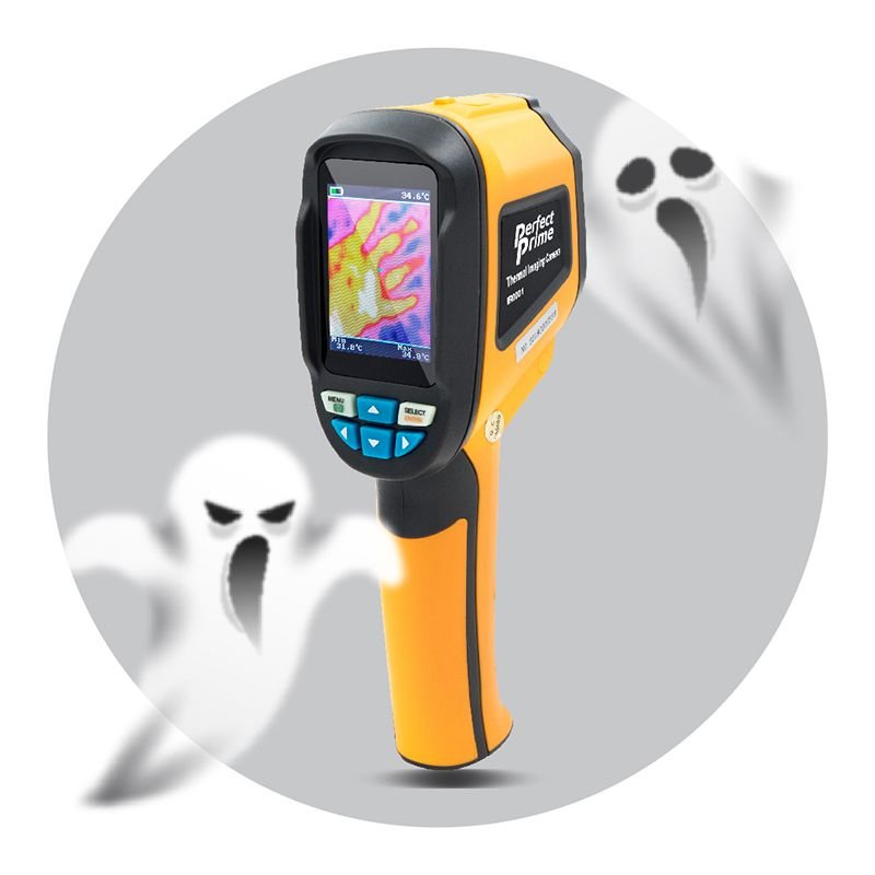 PerfectPrime IR0001 thermal camera with two ghosts