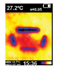Thermal Image of air con