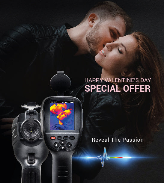 Valentine's day sale, a couple, reveal the passion