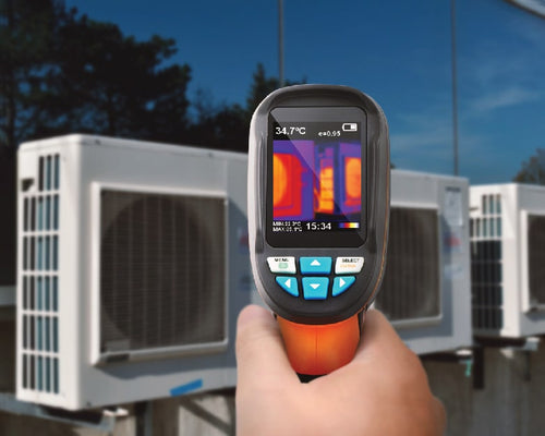 IR0001 Thermal Camera checking HVAC