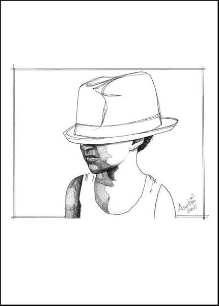 Dady's Hats (Open Edition Prints)