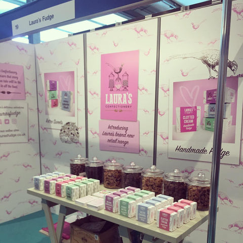 Lauras Fudge trade show