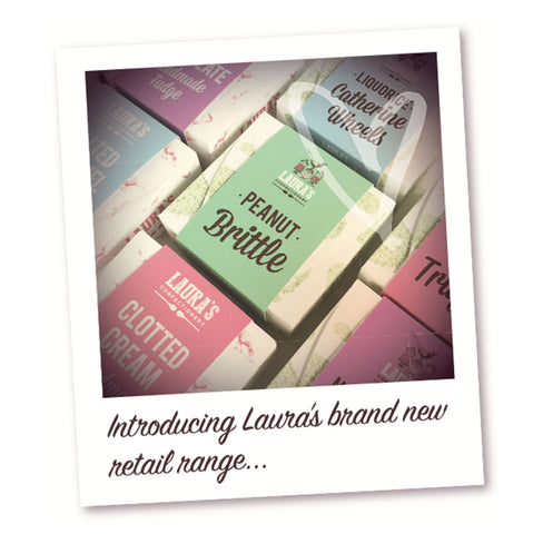 Lauras fudge retail range