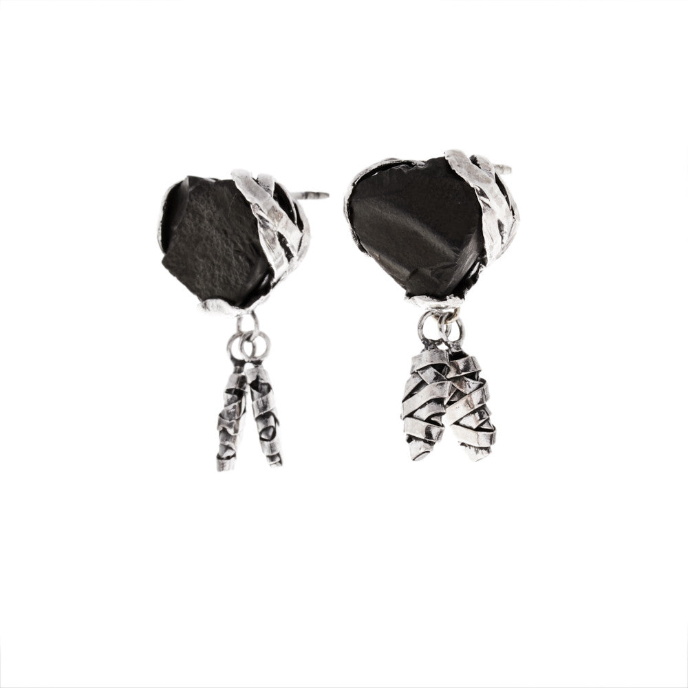 big gold detail black product stone earrings buy single latest