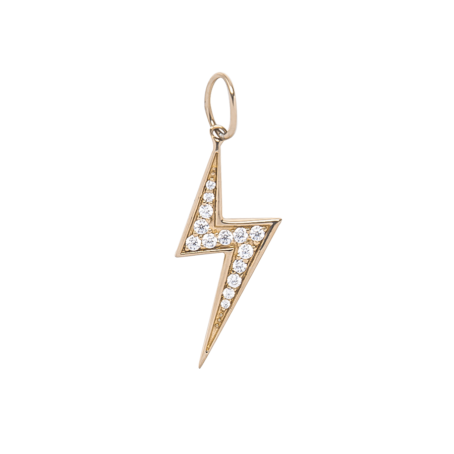 Lightning Necklace Charm
