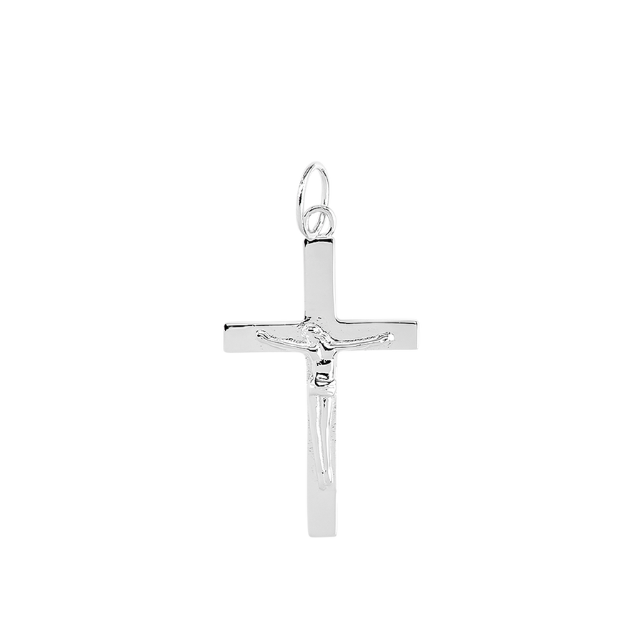 Crucifix Charm Silver - preorder now (early January)