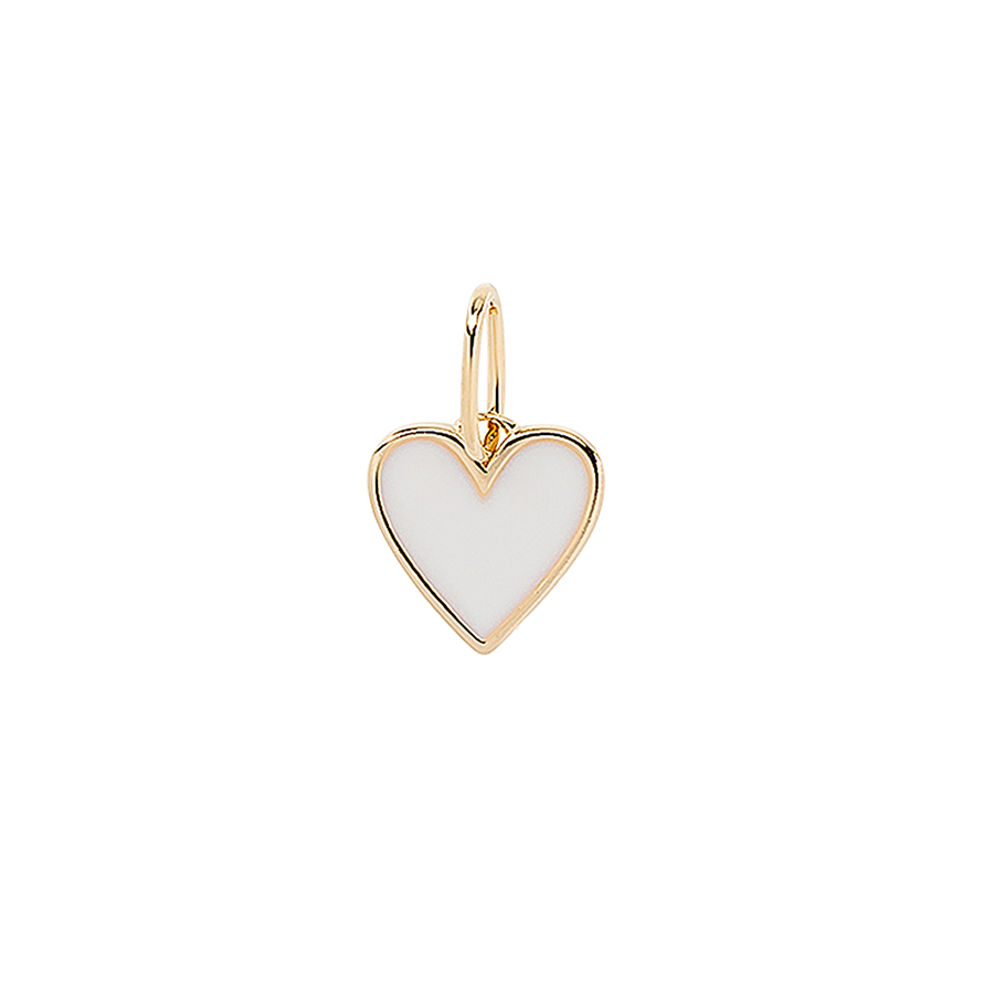 Frozen Heart Necklace Charm