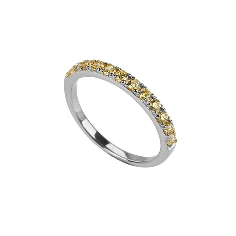 Élodie Ring Gold Silber
