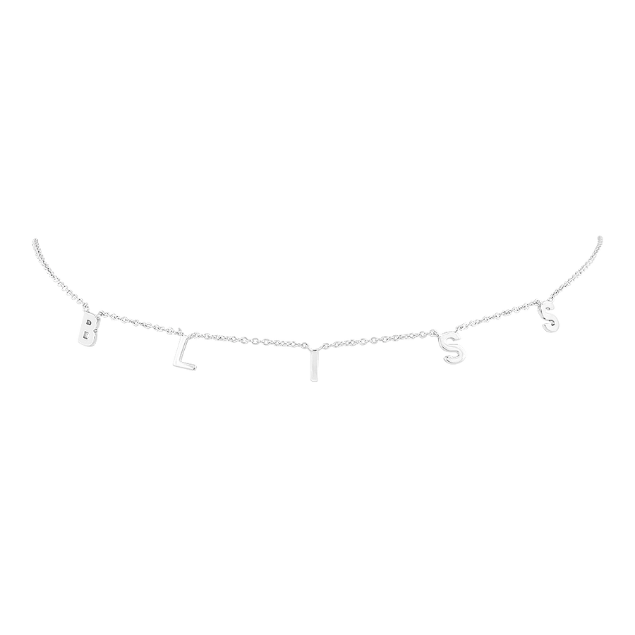 Bliss Choker Silver