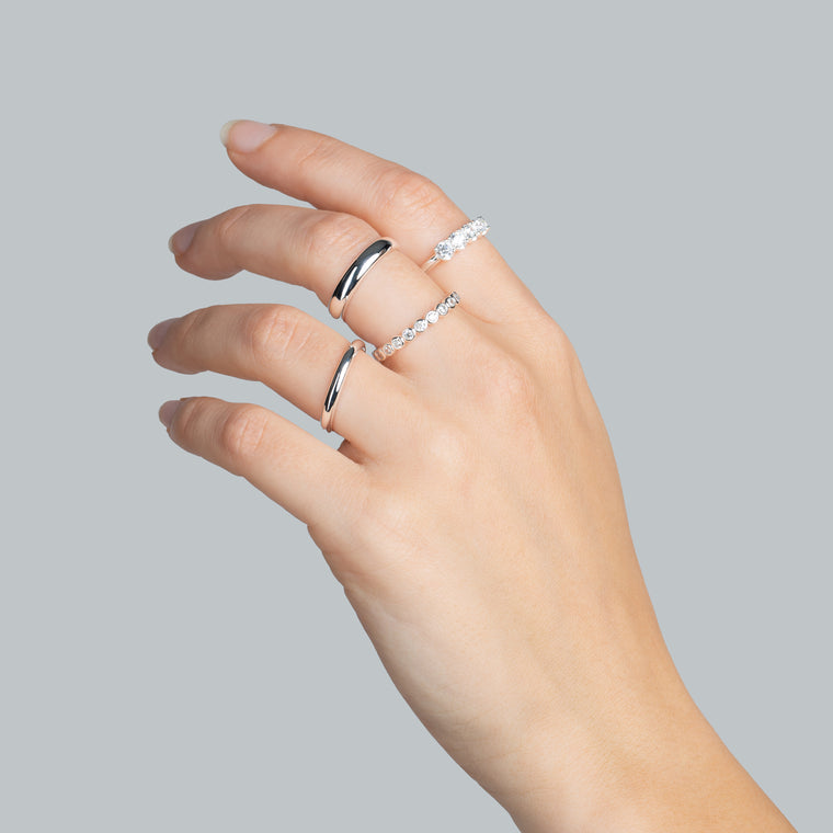Bold Ring Silver