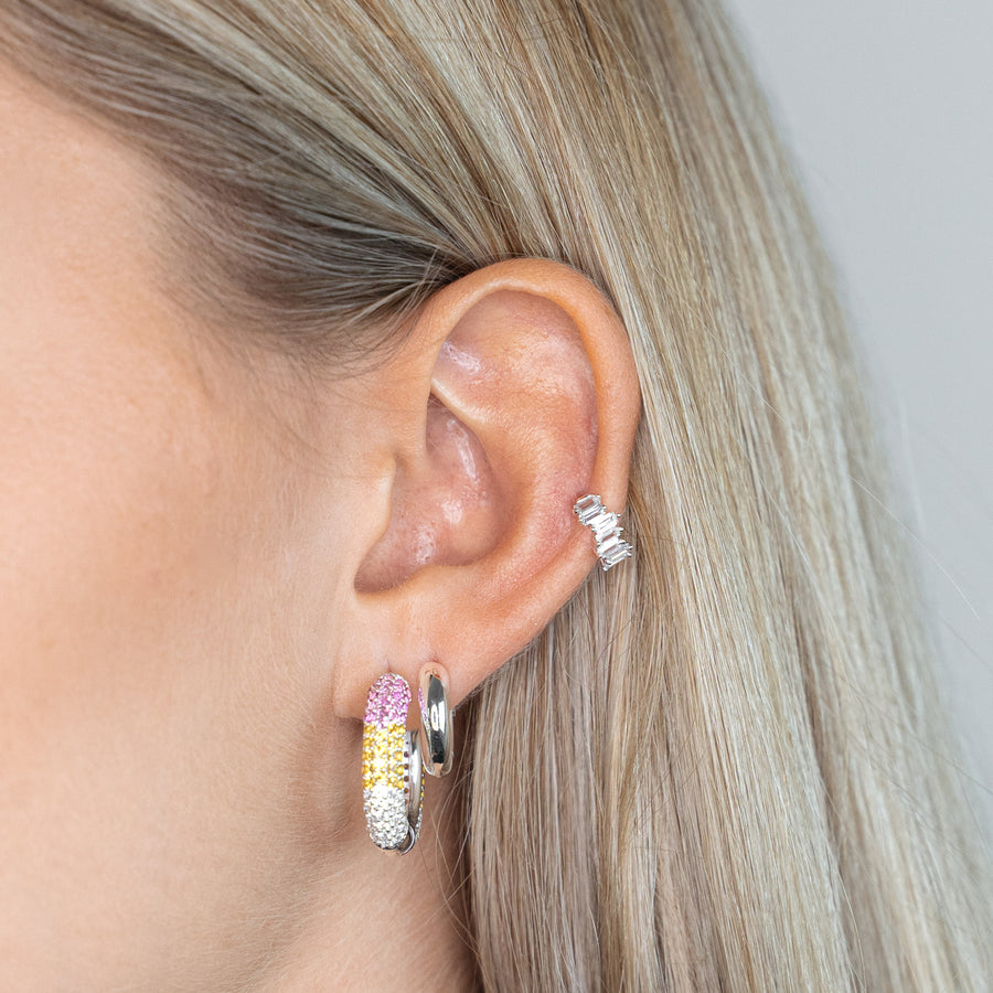 Chunky Hoops mini silver - preorder now (early December)