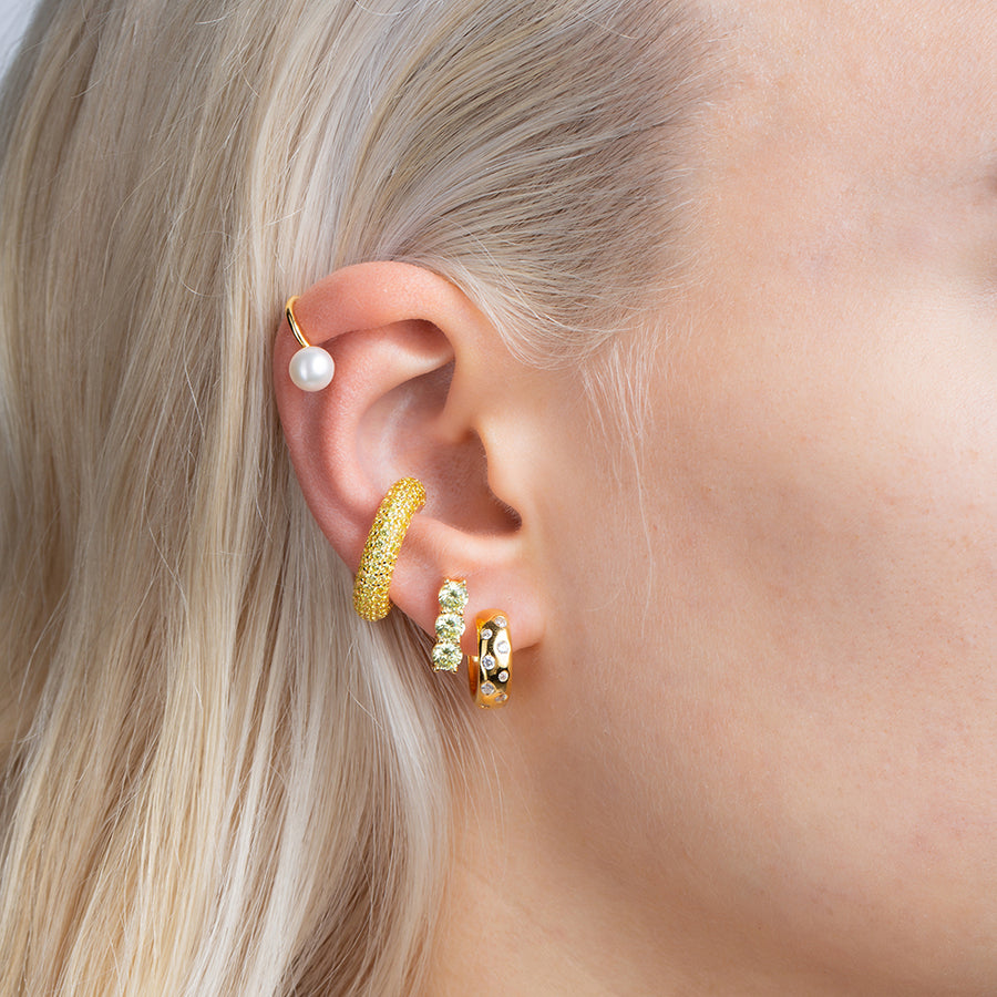 Xenia Earrings Apple Green