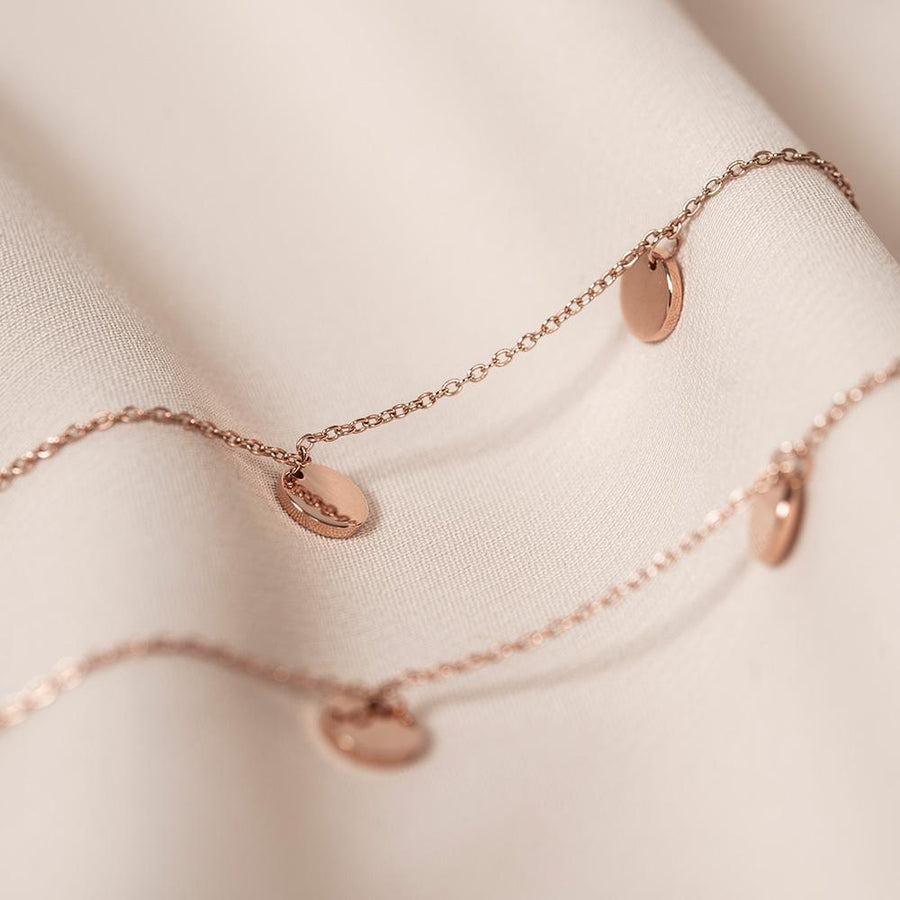Athena Necklace Rose Gold