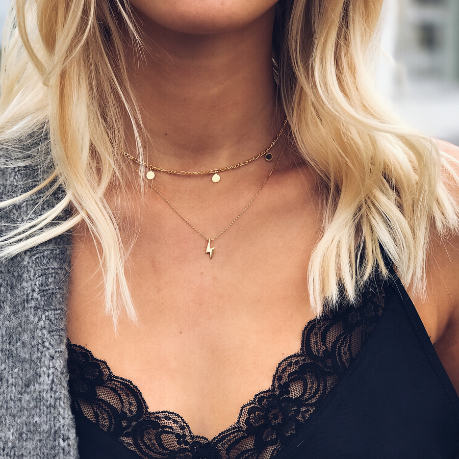 Delicate Coin Choker