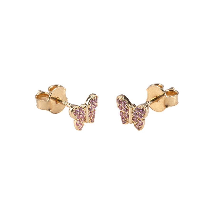 Butterfly Earrings Zirconia