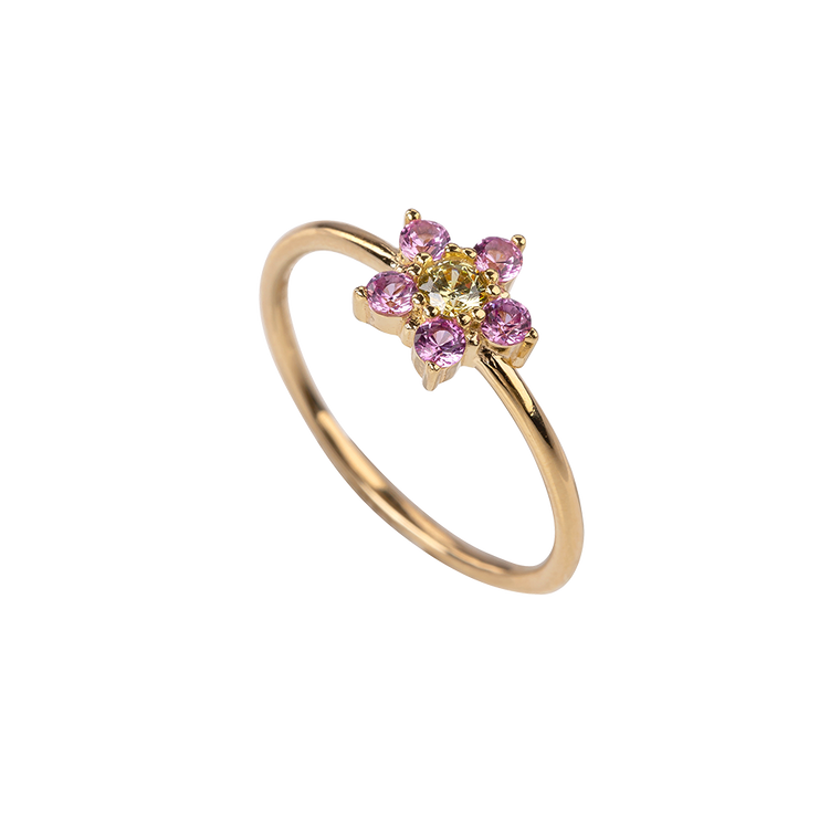 Daisy Ring Pink