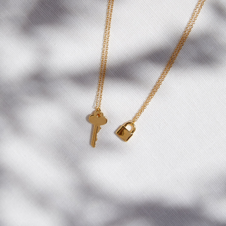 Delicate Key Necklace