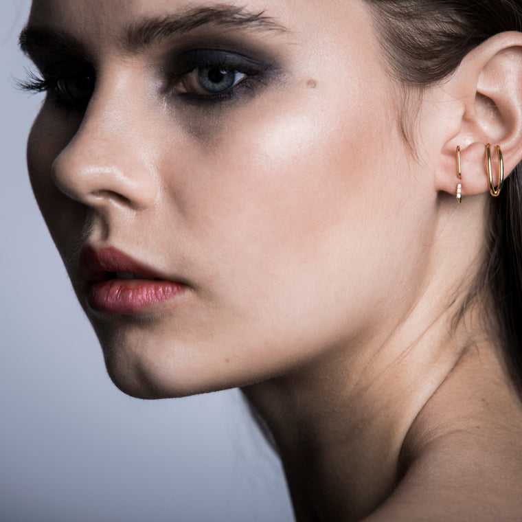 Pepita Earrings Gold