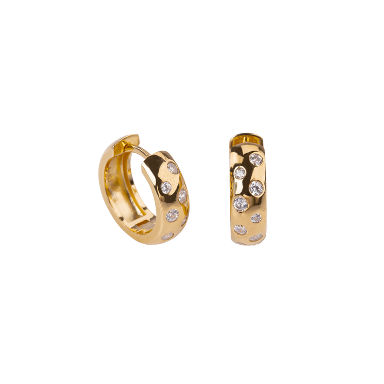 Maya Earrings Zirconia - preorder now (mid April)