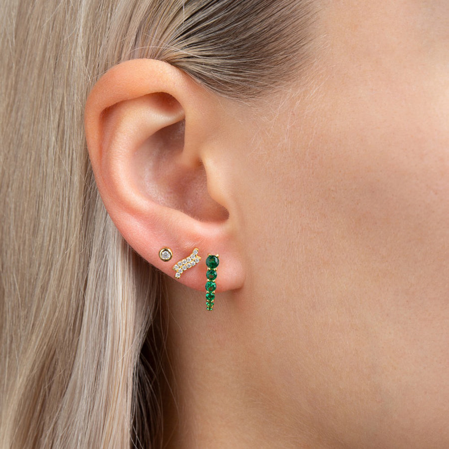 Mafalda Earrings Green