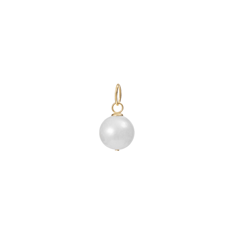 Big Pearl Necklace Charm