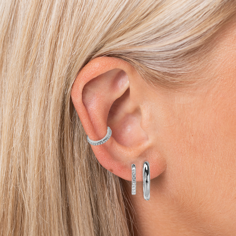 Simple Chic(k) Eargame Silver