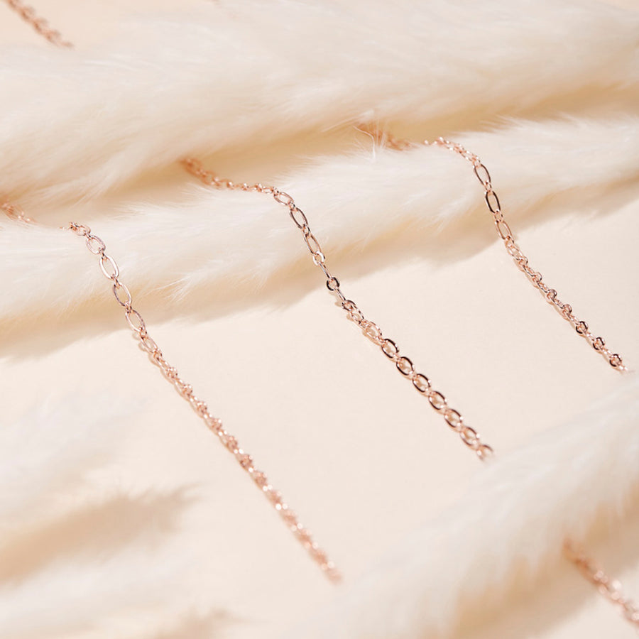 Chain Choker Rose Gold