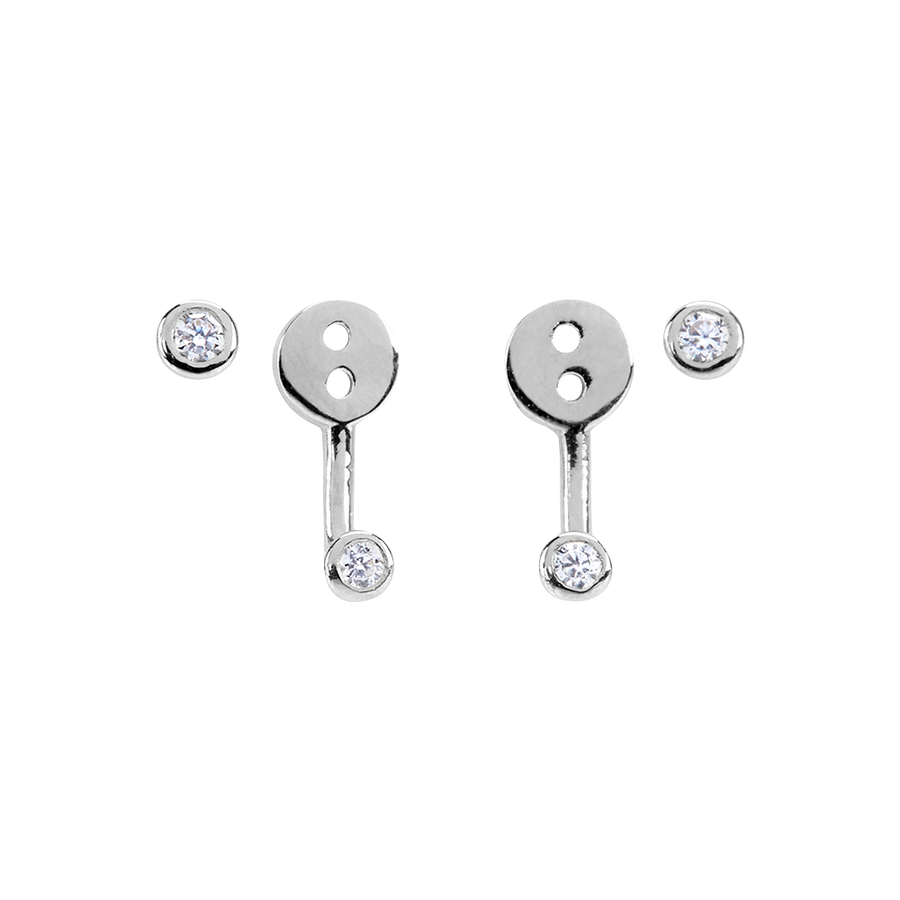 Paloma Earrings Silver - preorder now (mid August)