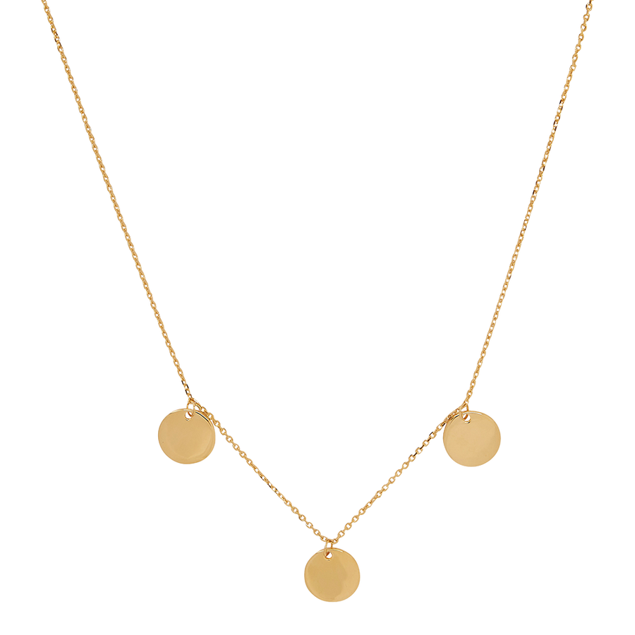 Multi Coin Necklace