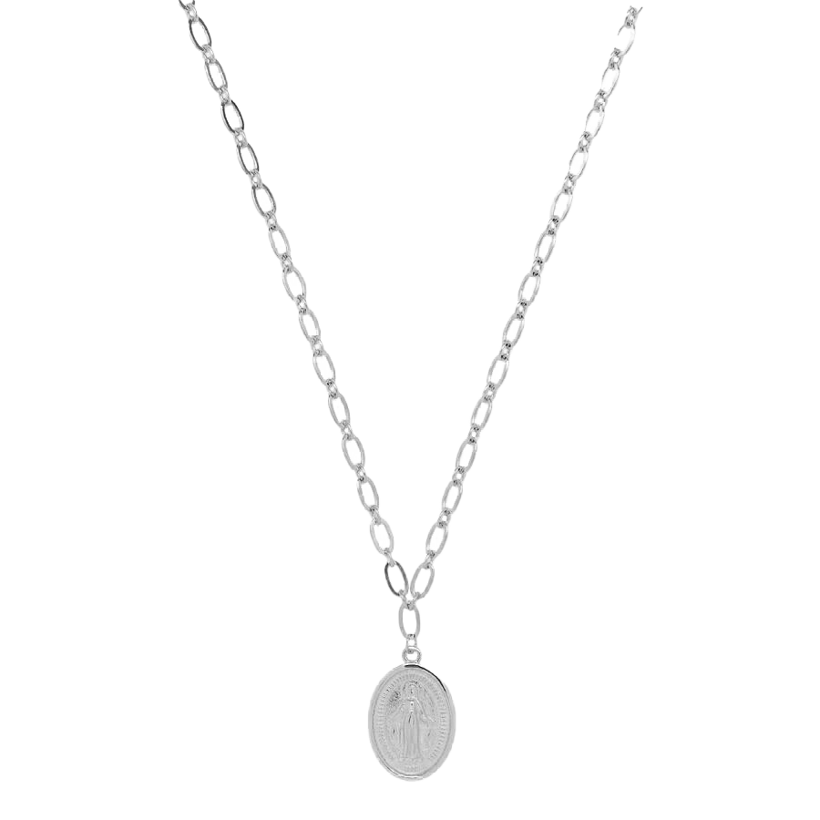Gloria Necklace Silver