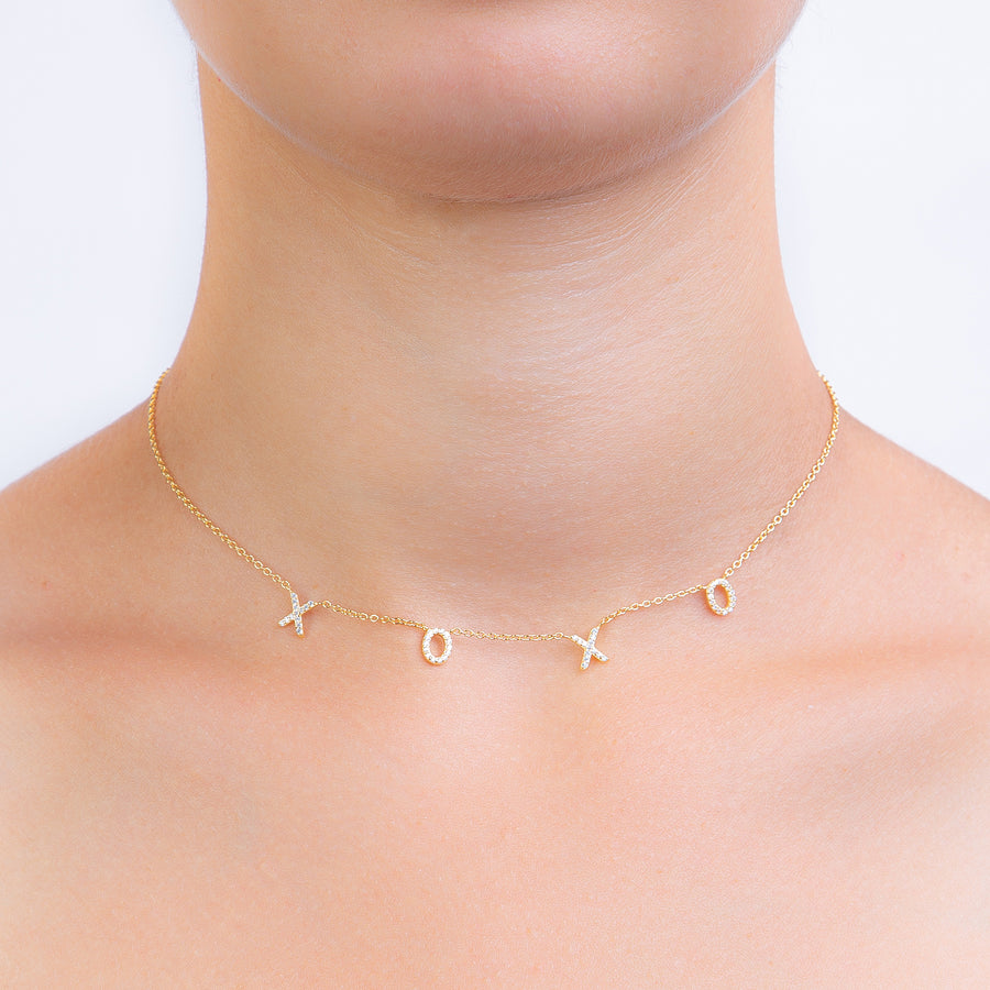 XOXO Choker Zirconia - preorder now (early January)