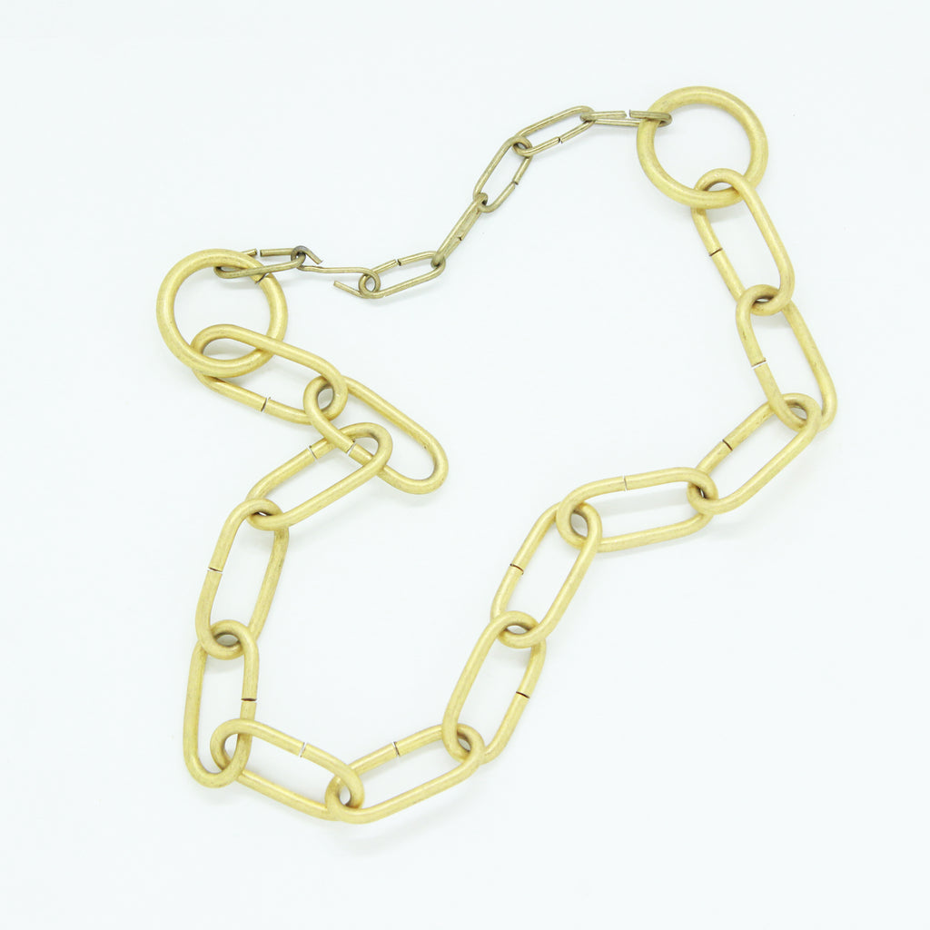 GOLD CHUNK CHAIN