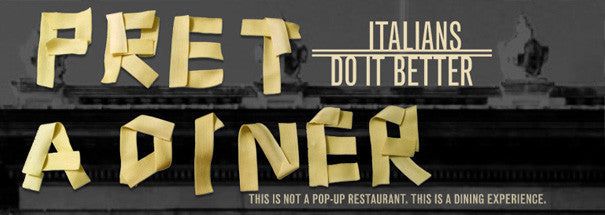Pret A Diner – 'Italians Do It Better'