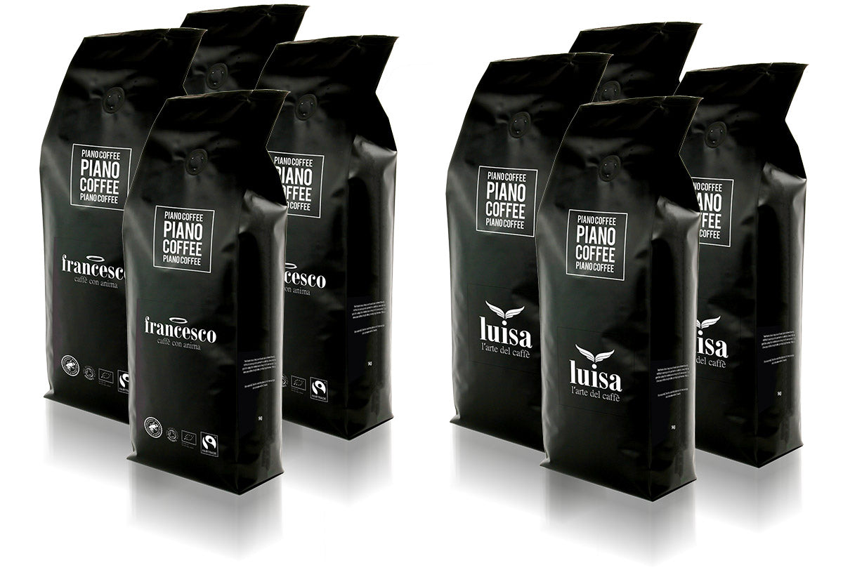 Piano Coffee Brings You Two UK-produced Italian-style Blends
