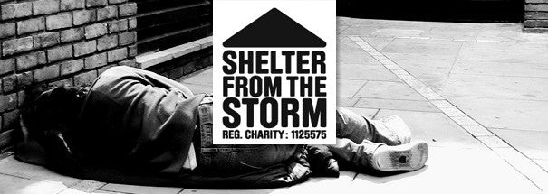 Homeless In London – Shelter From The Storm