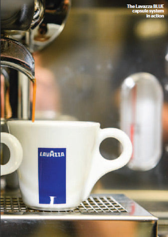 The Lavazza BLUE System In Action