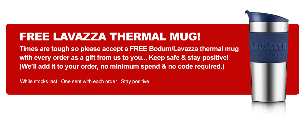FREE Thermal Mug With Every Order