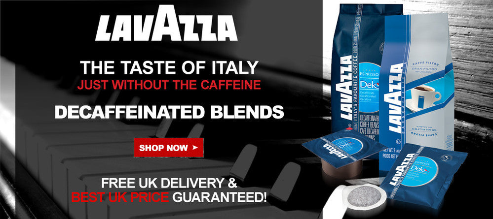 Lavazza Decaffeinated Blends