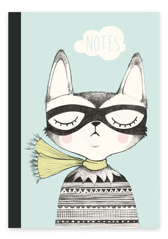 Notebook cat A5 - studioloco