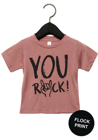 You rock t-shirt  triblend - studioloco