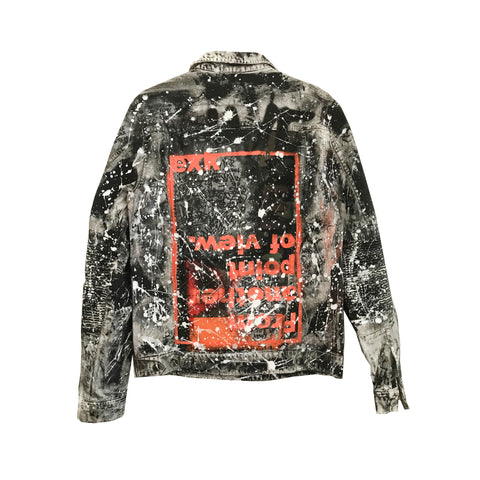 00 TRUCKER JACKET FROM ANOTHER POINT OF VIEW. - EXKLUS1V