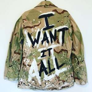 MILITARY LUX JACKET  , Official U.S Army - I WANT IT ALL