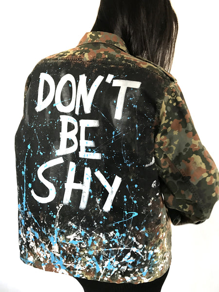 DON´T BE SHY - Military Shirt, Official Germany army 1990s - EXKLUS1V