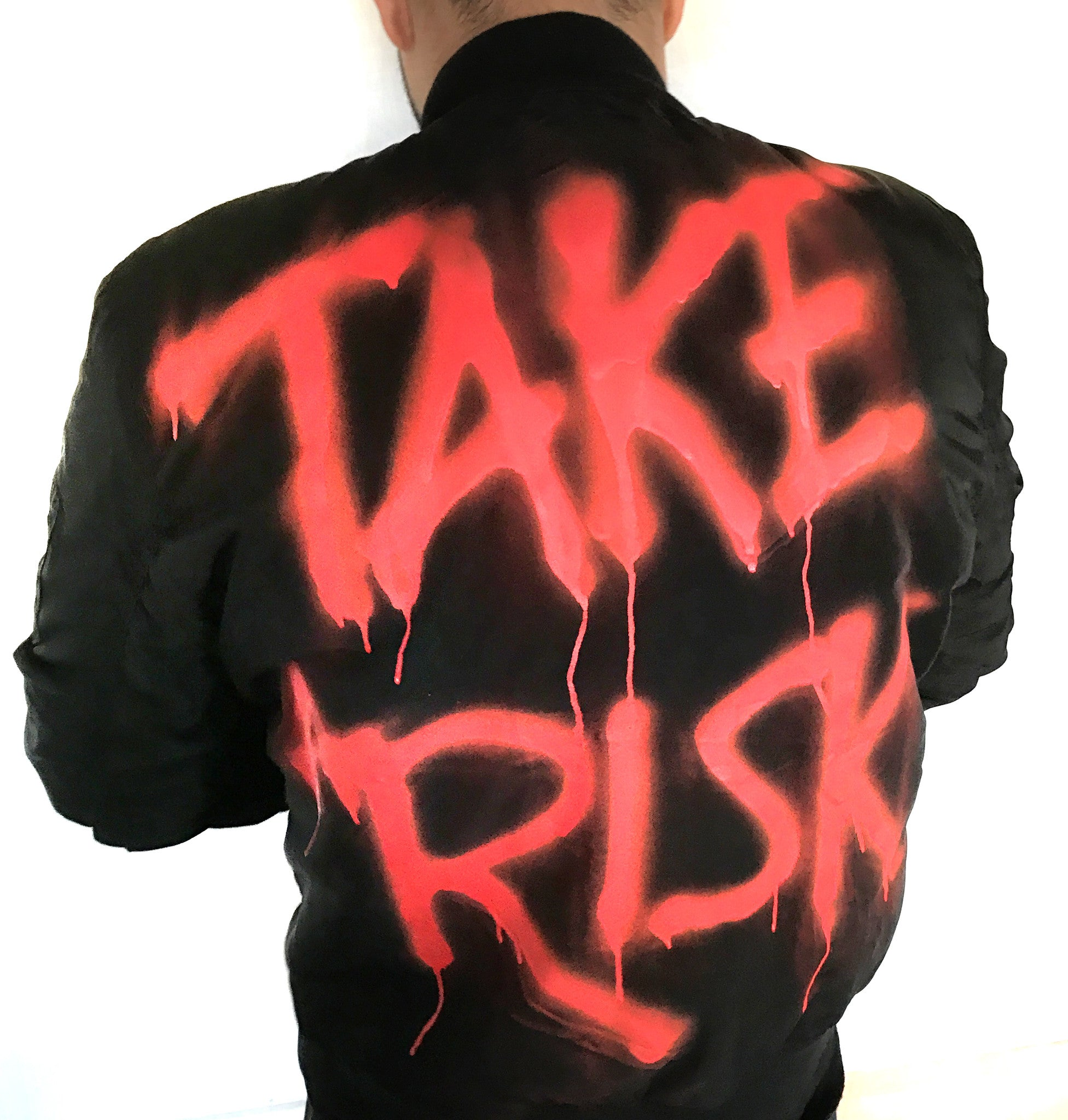 BOMBER JACKET TAKE A RISK