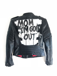BLACK LUX JACKET - MOM - EXKLUS1V