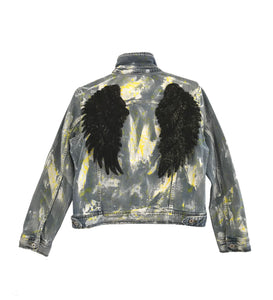 00 Black Angel Jacket Denim - EXKLUS1V
